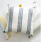The Draper Pillow - Navy Product Image