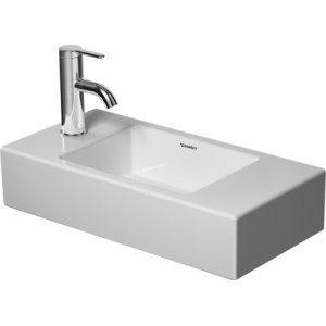 Vero Air Furniture Handrinse Basin 1 Faucet Hole Punched