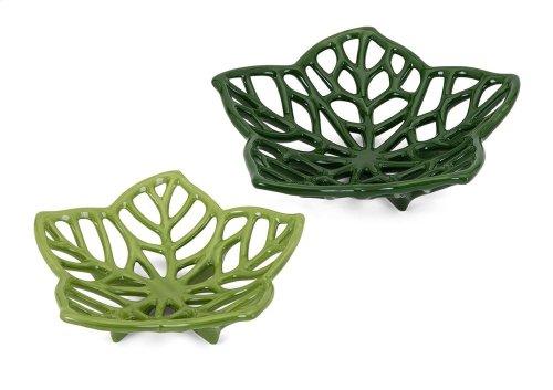 Floriana Ceramic Cutwork Flowers - Set of 2