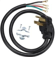 Universal dryer power cord (4W / 4' / 30A)