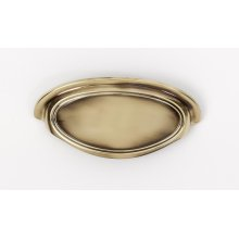 Classic Traditional Cup Pull A1571-35 - Polished Antique