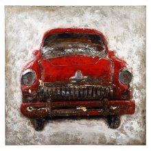 Vintage Auto Wall Décor