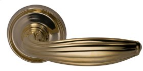 Interior Traditional Lever Latchset in (US3A Polished Brass, Unlacquered)