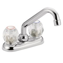 Chateau chrome two-handle laundry faucet