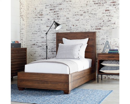 Milk Crate Framework Twin Bed