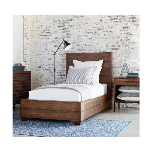 Milk Crate Framework Twin Bed