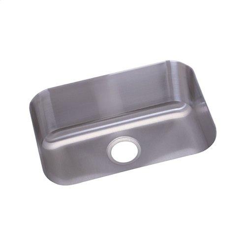 "Dayton Stainless Steel 23-1/2"" x 18-1/4"" x 8"", Single Bowl Undermount Sink"