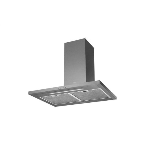 "LG STUDIO 36"" Wall Mount Chimney Hood"