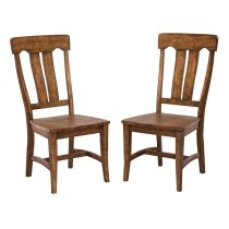 The District Collection's Splat Back Side Chair Product Image