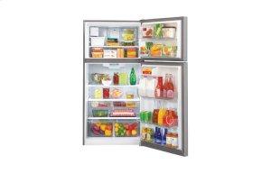 "20 cu. ft Large Capcity 30"" Wide Top Freezer Refrigerator w/Ice Maker"