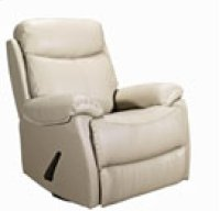REC-220 Brazil Mushroom Leather Recliner Product Image