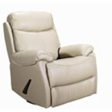 REC-220 Brazil Mushroom Leather Recliner