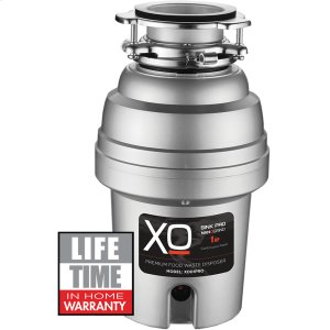 Xo Appliances1 HP Pro 3 Bolt Mount, Continuous Feed Disposal