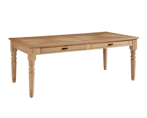 Organic Taper Turned Dining Table