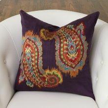 Ikat Paisley Pillow