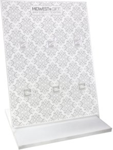 Damask Patterned Jewelry Display & Header Card. ()