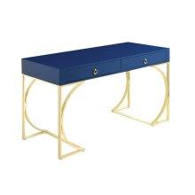 Odessa Glossy Blue Writing Desk