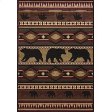 Contours/jq Native Bear Toffee Rugs