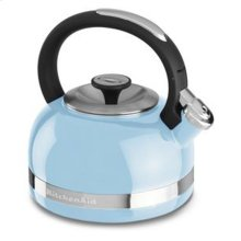 2.0-Quart Kettle with Full Handle and Trim Band - Cameo Blue