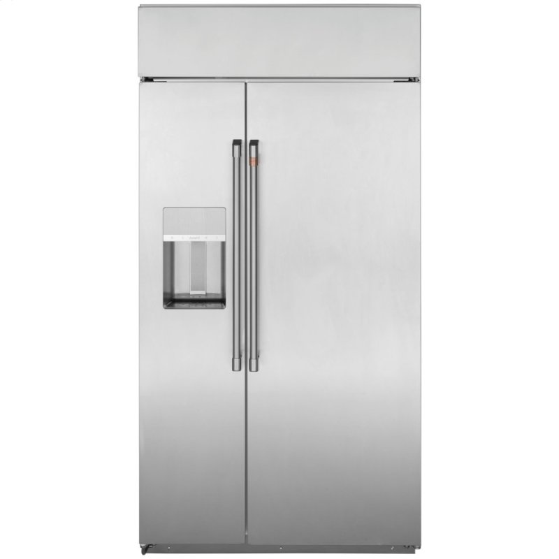 "48"" Smart Built-In Side-by-Side Refrigerator with Dispenser"
