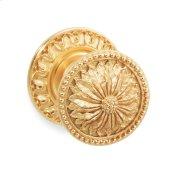 Gold Plate Acanthus Door Knob