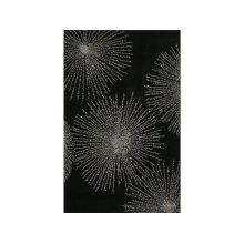 England Floor Coverings Sunrise SS-03 Black 5' x 8' Rectangle 101968