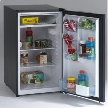 4.4 CF Counterhigh Refrigerator - Black