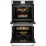 """Caf(eback)(tm) 30"""" Smart Double Wall Oven With Convection"""