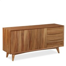 Berkeley Large Retro Buffet/Sideboard with 3 Doors, 2 Drawers