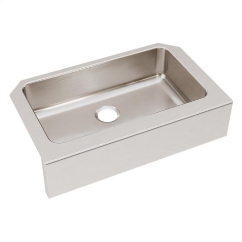 "Elkay Lustertone Classic Stainless Steel 33"" x 20-1/2"" x 8"", Single Bowl Farmhouse Sink"