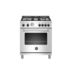 Bertazzoni30 inch All Gas Range, 4 Burner Stainless