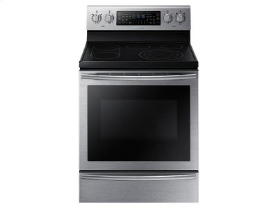 5.9 cu. ft. Electric Flex Duo Range with Soft Close Door Product Image