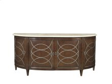 Duchamp Demilune Sideboard with Satillia Marble Top