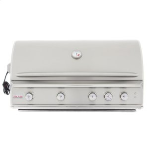 BLAZE GRILLSBlaze Professional 44-Inch 4 Burner Built-In Gas Grill With Rear Infrared Burner, With Fuel type - Propane