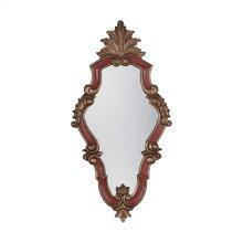 Vintage Carved Acanthus Mirror