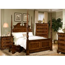 Decorative High Poster Bed
