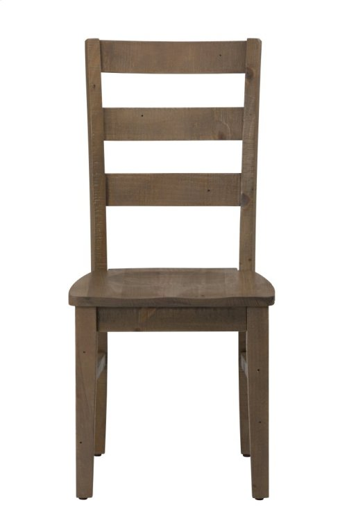 Slater Mill Pine Three Rung Ladderback Chair