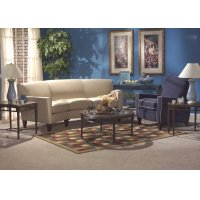 Digby Leather Conversation Sofa Product Image