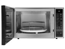 """Heritage 24"""" Convection Microwave, Silver Stainless Steel"""