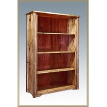 Homestead Bookcase - Stained and Lacquered