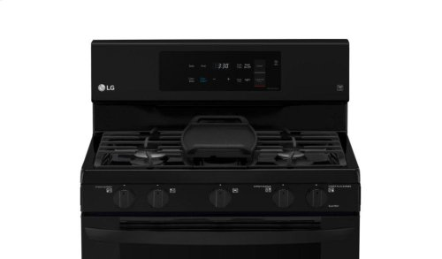 5.4 cu. ft. Gas Single Oven Range with Fan Convection and EasyClean®