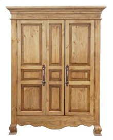 2 Door Reg Wax Armoire