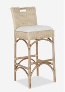 Natural Rattan Barstool (18X18X42) Product Image
