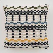 Woven Avery Pillow - Navy