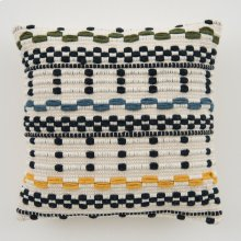 Woven Avery Pillow - Navy