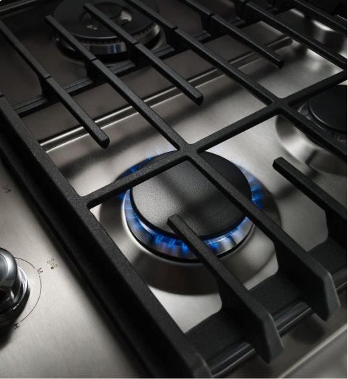 [CLEARANCE] 30'' 5-Burner Gas Cooktop - Stainless Steel. Clearance stock is sold on a first-come, first-served basis. Please call (717)299-5641 for product condition and availability.