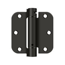 """3 1/2""""x 3 1/2""""x 5/8"""" Spring Hinge - Oil-rubbed Bronze"""