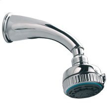 DBX 3-function hydro turbo massage shower head with shower arm (165mm)