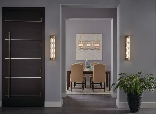 """Empire 24"""" LED Linear Wall Sconce Classic Pewter"""
