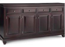 Florentino Sideboard w/4 Wood Doors & 4/Dwrs & 3/Wood Adjust.